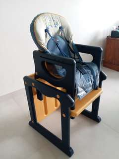 Baby high chair / writing table with chair