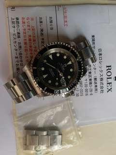 Tudor 79090 Submariner 黃夜光行纸