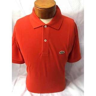 Lacoste Polo shirt men (overruns) size 5 only