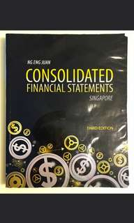 AC3102 Consolidated Financial Statements Third Edition