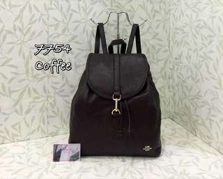 Coach Backpack Coffee Color