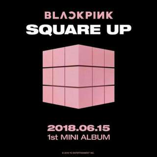 [PREORDER] BlackPink - 1st Mini Album Square Up