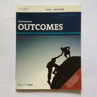 Outcomes Intermediate - English Book