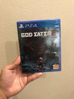 GOD EATER 2 RAGE BURST s4 Game