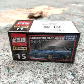 🚚 Tomica Premium Subaru Impreza 22B-STi Version