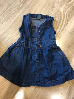 One pc denim dress
