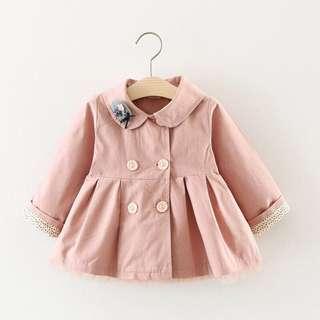 Baby girl korea outerwear