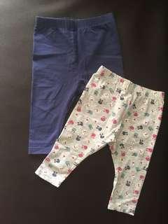 Mothercare leggings bundle