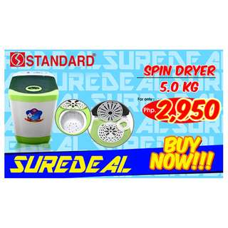BRAND NEW WASHING MACHINE & SPIN DRYER