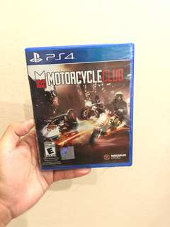 Motorcycle Club Ps4 Games