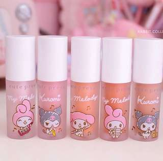 Thailand Cutepress Limited Melody & Kuromi Liquid Blush
