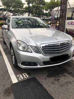 Mercedes Benz E200 for rent