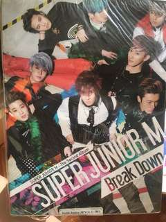 Super Junior M  breakdown 專輯 全新