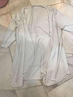 Long cardigans white