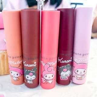 Thailand Cutepress Limited Melody & Kuromi Coloured Lipbalm