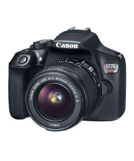 Canon EOS Rebel T6 Digital SLR Camera Kit with EF-S 18-55mm f/3.5-5.6 IS II Lens, Built-in WiFi and NFC - Black