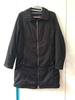 Prada Black Ladies Long Jacket Size 40