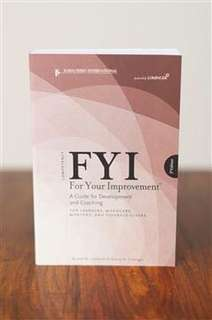 FYI - For Your Improvement Competencies Development Guide