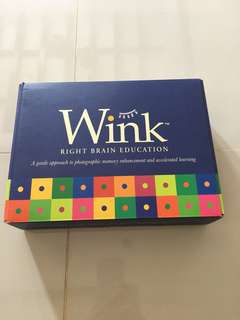 Tweedlewink Right Brain training set