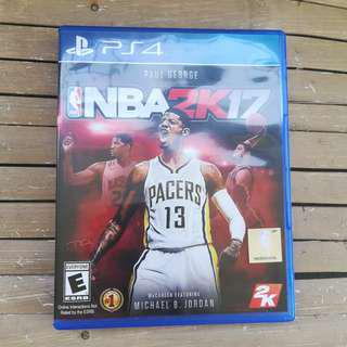 nba 2k17 ps4 games