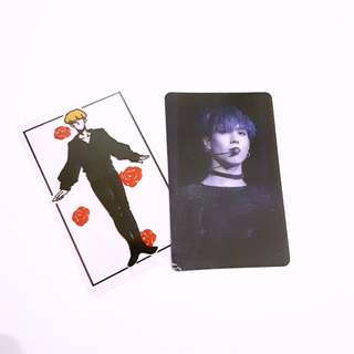 GOT7 Yugyeom Transparent Photocard