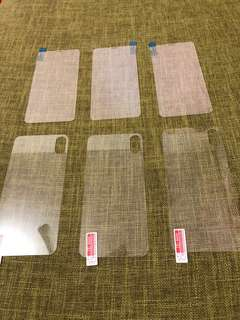 iPhone X高清全屏保護貼