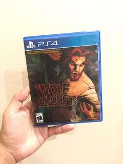 The Wolf Among Us Ps4 Game