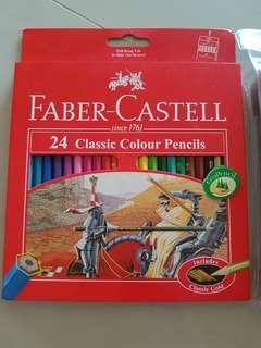 Faber Castell 24 classic color pencils