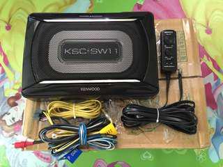 Kenwood Underseat Subwoofer KSC-SW11