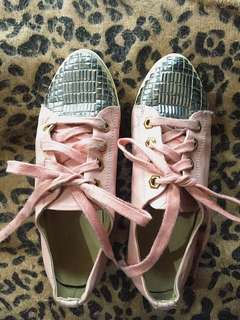 Pink Kpop shoes