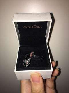 Pandora tree of love hanging charm