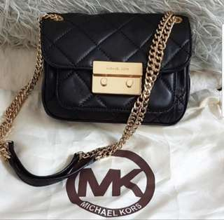 MICHAEL KORS Small sloan quilted leather crossbody bag