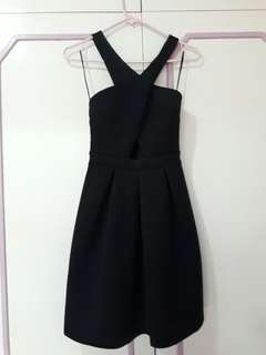 Miss Selfridge Black Dress