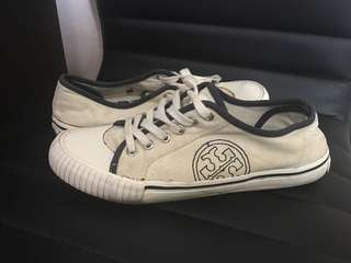 Preloved Tory Burch White Sneakers