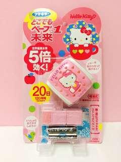 (批發價!日本限定) 日本驅蚊達人 Vape Hello Kitty 驅蚊手帶/吊飾