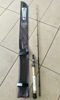 TuLaLa Baitcaster rod