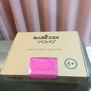 Babyzen Yoyo+ canopy and seat pink