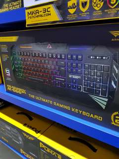 Armaggeddon Kalashnikov AK-666 SFX Ultimate Gaming Keyboard