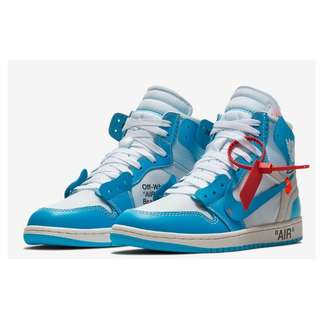 Air Jordan 1 x Off-White UNC EUR40.5 (UK6.5)