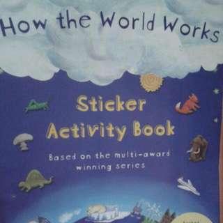 Sticker Activity Book / Buku Bbw