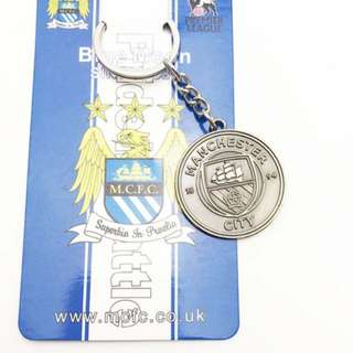 MANCITY MANCHESTER CITY KEYCHAIN KEY CHAIN FC FOOTBALL SOCCER
