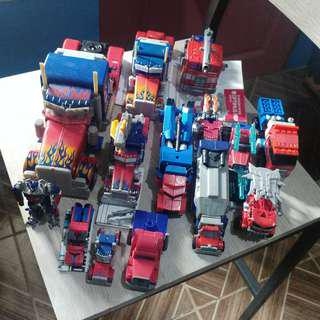 Optimus Prime Collection