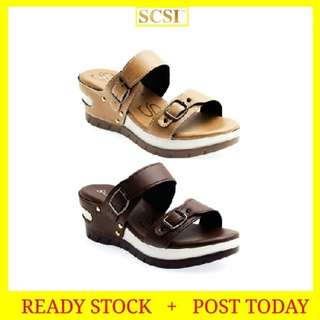 READY STOCK SCSI Luxury Shoes Serius-Chunky Sandals P819