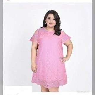 RDR DRESS DENA PINK