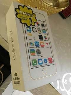 Iphone 5s 32GB Rosegold