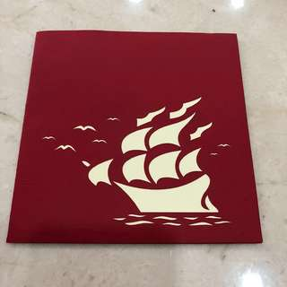 Maritime Popup Cards with Exquisite Paper Cutting