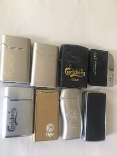 Clearance sales! FP! Lighters fr carlsberg n tiger beer