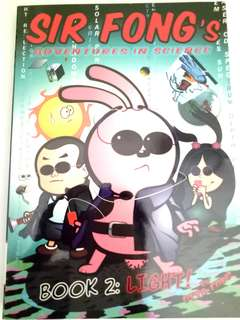 SIR Fong English comic book
