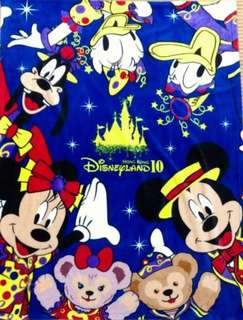 迪士尼10周年絕版毛氈