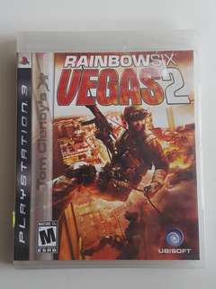 Ps3 Tom Clanc's Rainbow Six Vegas 2 Game